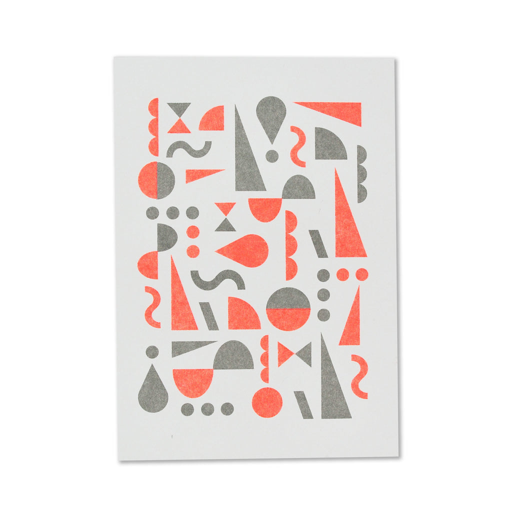 Fred Aldous Christmas Card Cool Grey