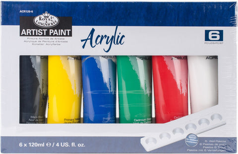 Essentials Acrylic 120ml Set of 6