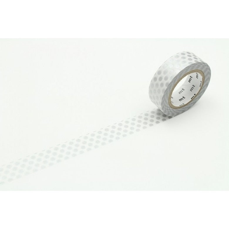 MT Tape Dot Silver