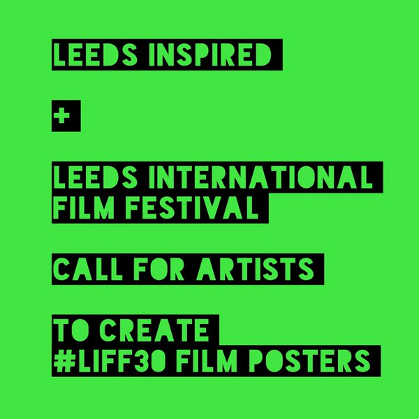 Leeds Inspired and LIFF30: Call For Artists – Fred Aldous