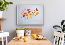 Flower Harvest: original painting