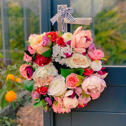 'Evening Garden' Door Wreath