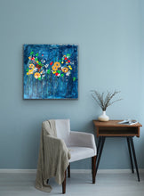 Night Garden - canvas
