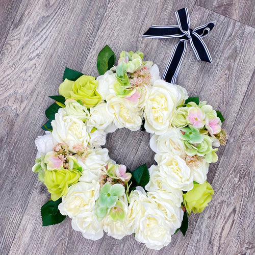 'Springtime Fresh' Door Wreath