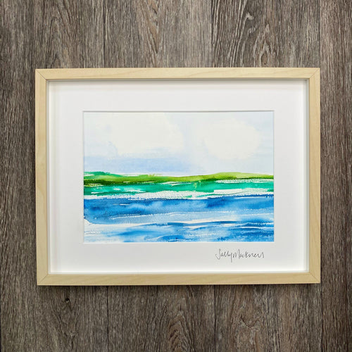 'Morning Light' - framed painting