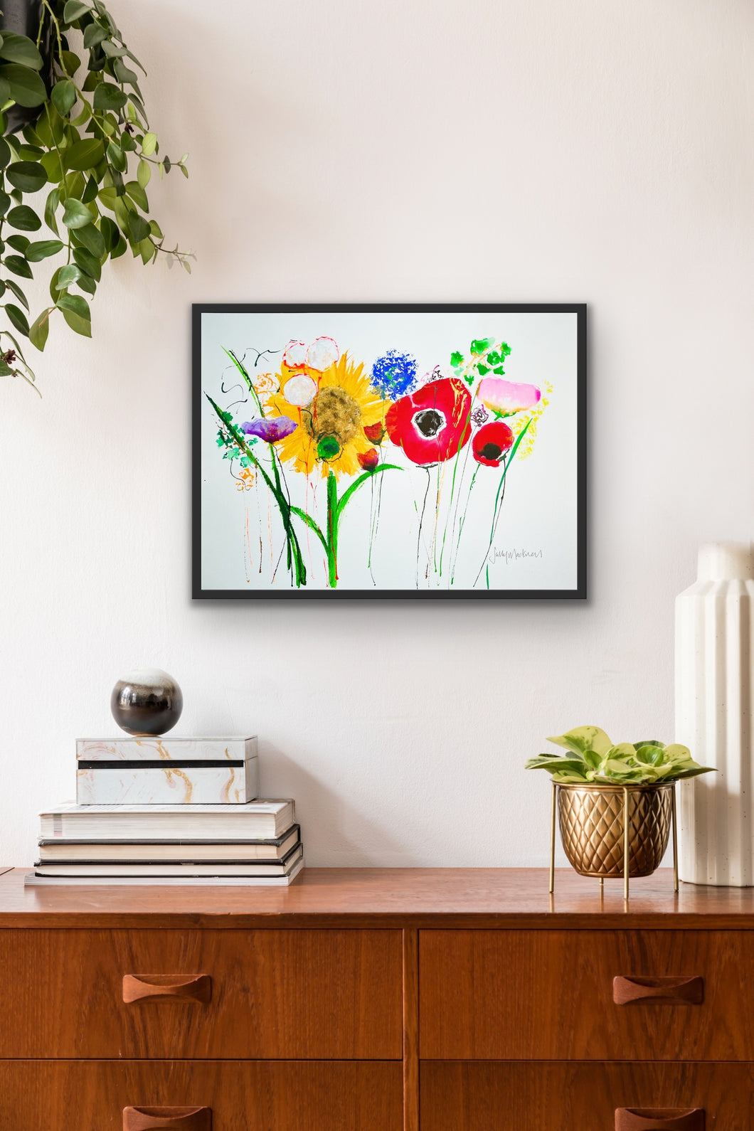 Meadow Burst: original painting