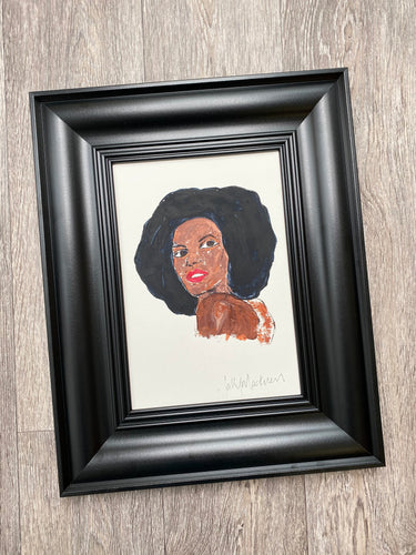 'Grace' - framed painting