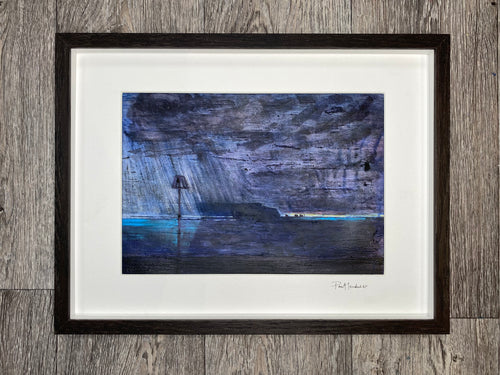 'Storm Over the Needles' - framed, original painting