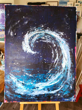 Midnight Wave #1 - Original Artwork - Sally Mackness
