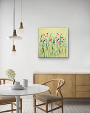 Lemon Drop Flower Pop' - Original Artwork