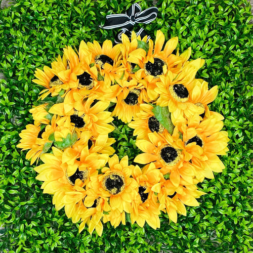 'Sunflower Love' Door Wreath