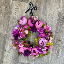 'Purple Patch' Door Wreath