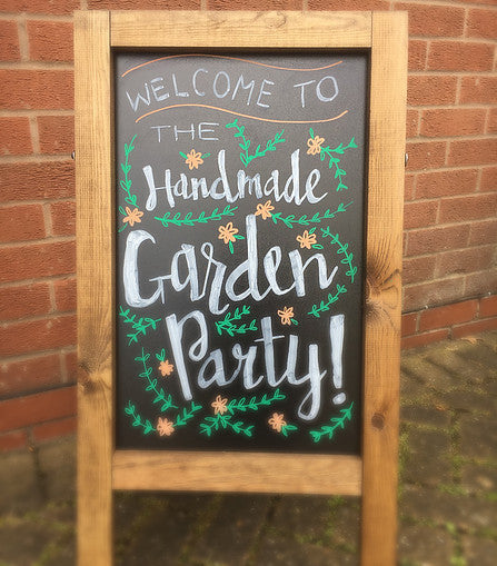 Our Gorgeous Handmade Garden Party