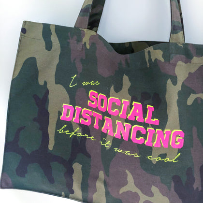 Social Distancing Camo Shopper