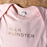 Milk Monster Short Sleeve Bodysuit