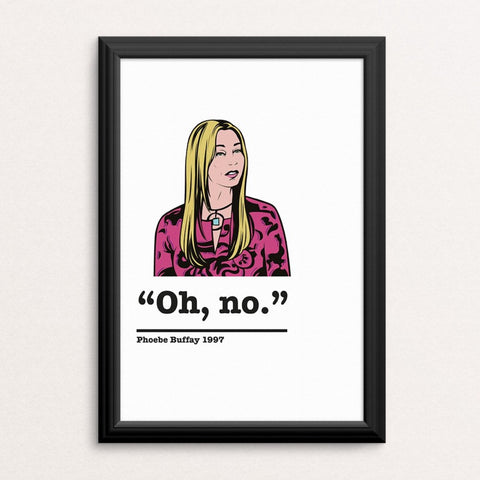 Friends Phoebe Buffay Art Print 7