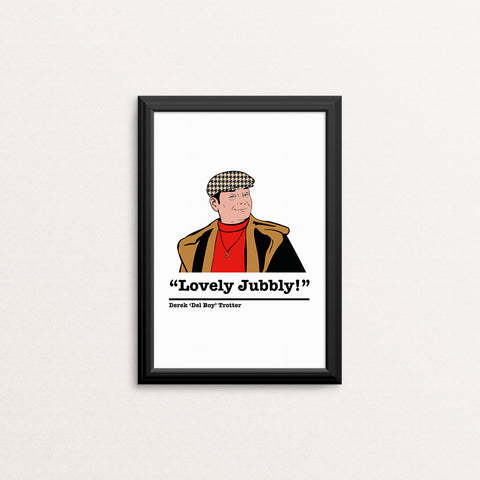 Only Fools and Horses Del Boy Art Print 2