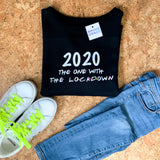 2020 The One With The Lockdown Oversized Sweater Black