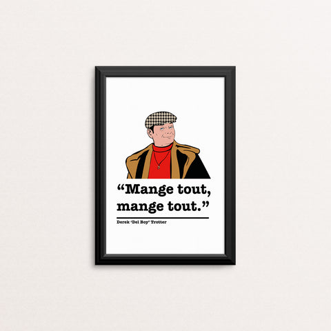 Only Fools and Horses Del Boy Art Print 5