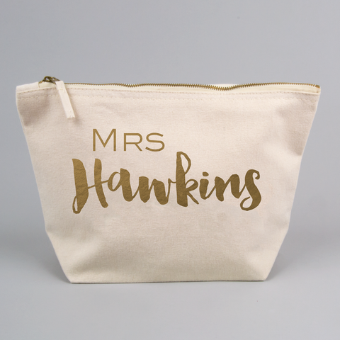Personalised Mrs Large Bag