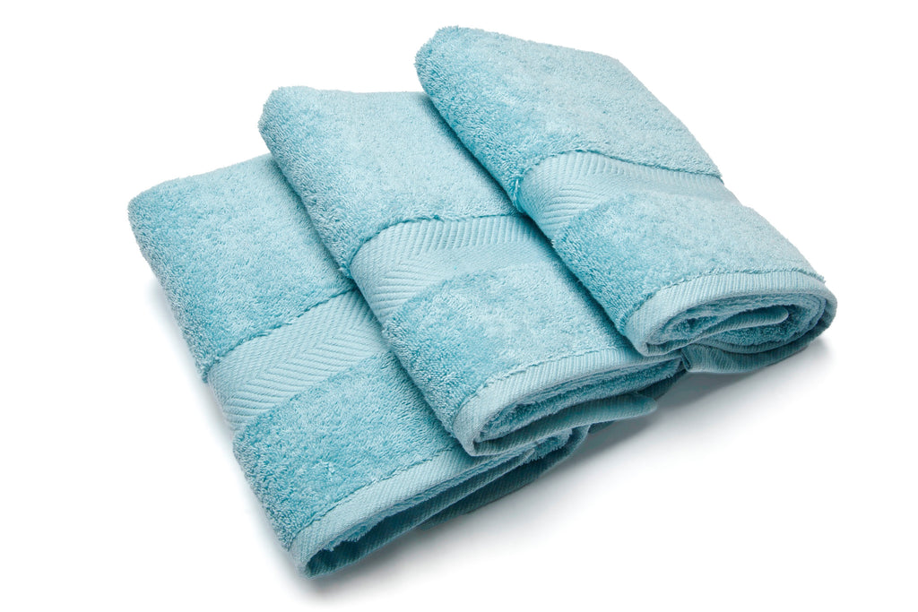 Royal touch - Ice Blue - Set van 3 Gastendoekjes (40 x 70 cm)