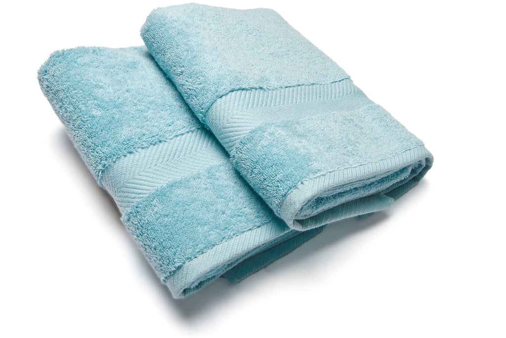 Royal touch - Ice Blue - Set van 2 Douchelaken  (65 x 125 cm)