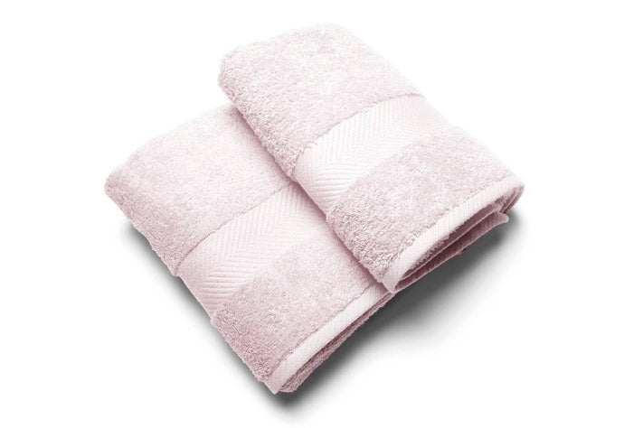 Royal touch - Rose - Set van 2 Douchelaken  (65 x 125 cm)