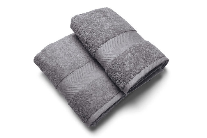 Royal touch - Slategrey - Set van 2 Douchelaken  (65 x 125 cm)
