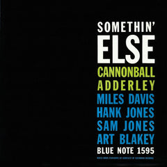 Cannonball Adderley - Miles Davis - Somethin Else