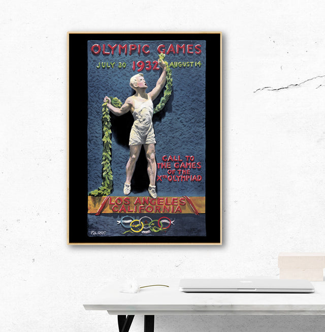 Los Angeles 1932 Olympic Games Official Poster