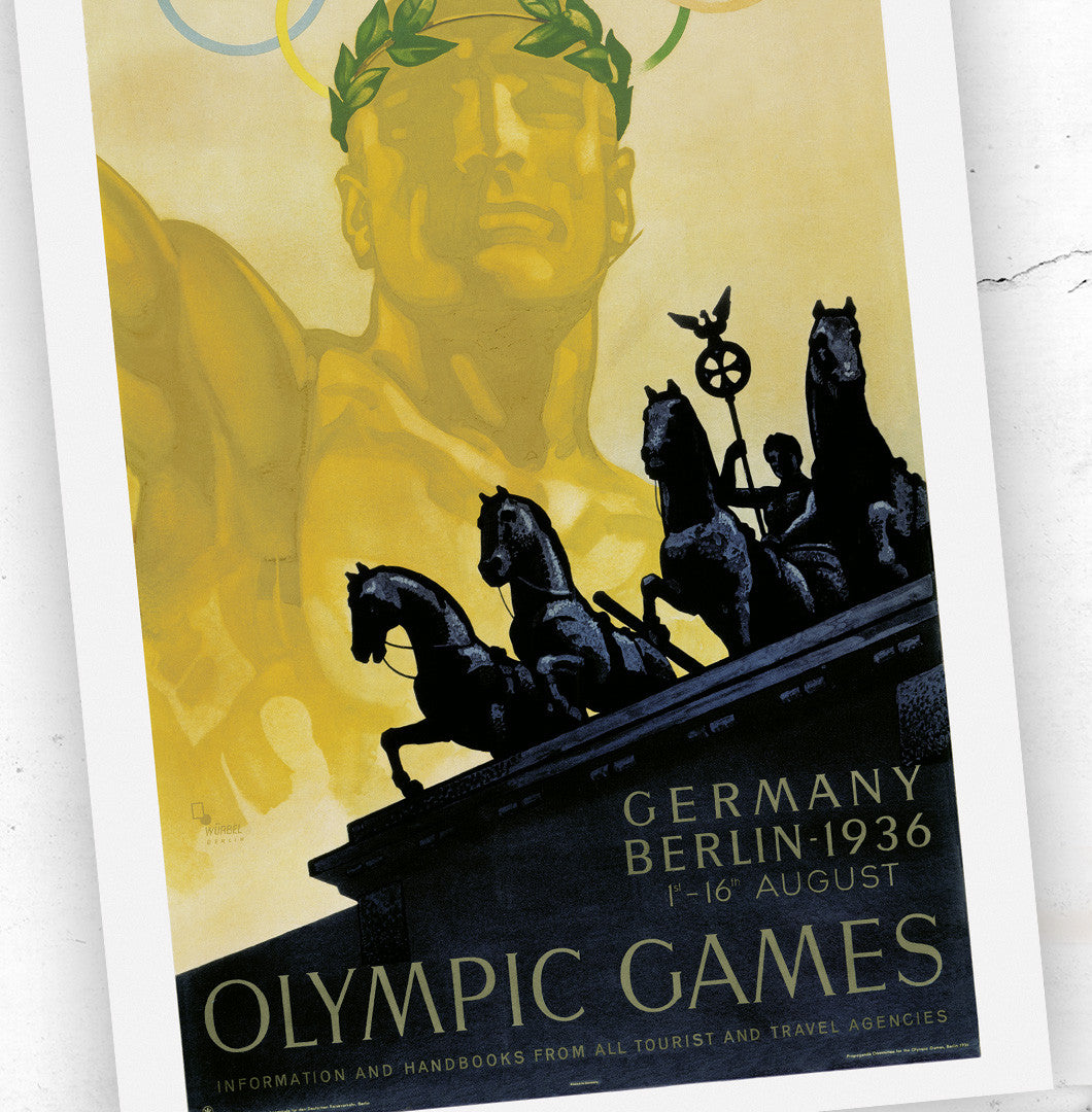 Berlin 1936 Olympic Games Official Poster