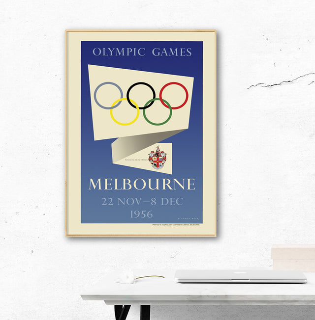 Melbourne 1956 Olympic Games Official Poster