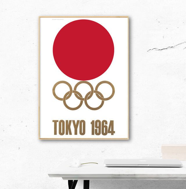 Tokyo 1964 Olympic Games Official Poster