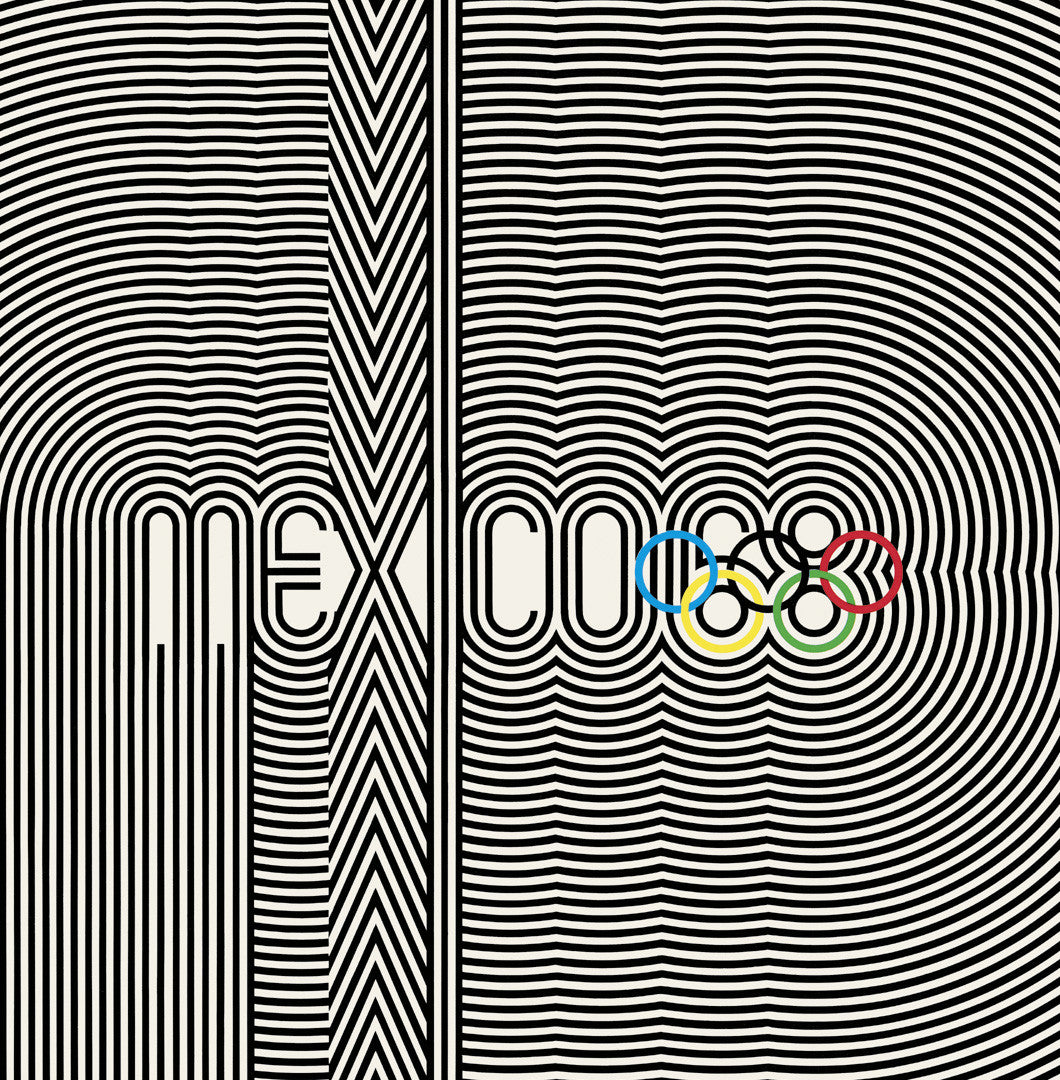 Mexico 1968 Olympic Games Official Poster