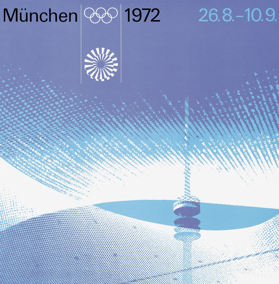 Munich 1972 Olympic Games Official Poster