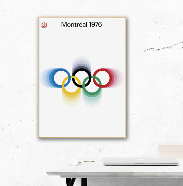 Montreal 1976 Olympic Games Official Poster