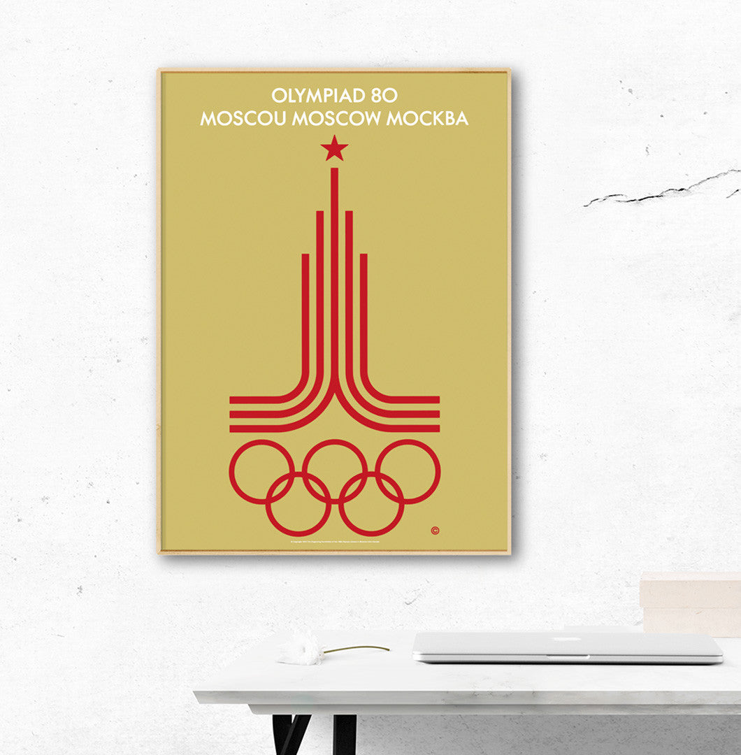 Moscow 1980 Olympic Games Official Poster