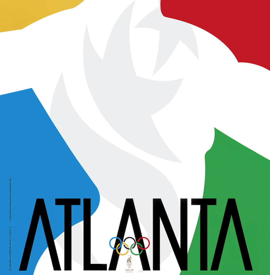 Atlanta 1996 Olympic Games Official Poster