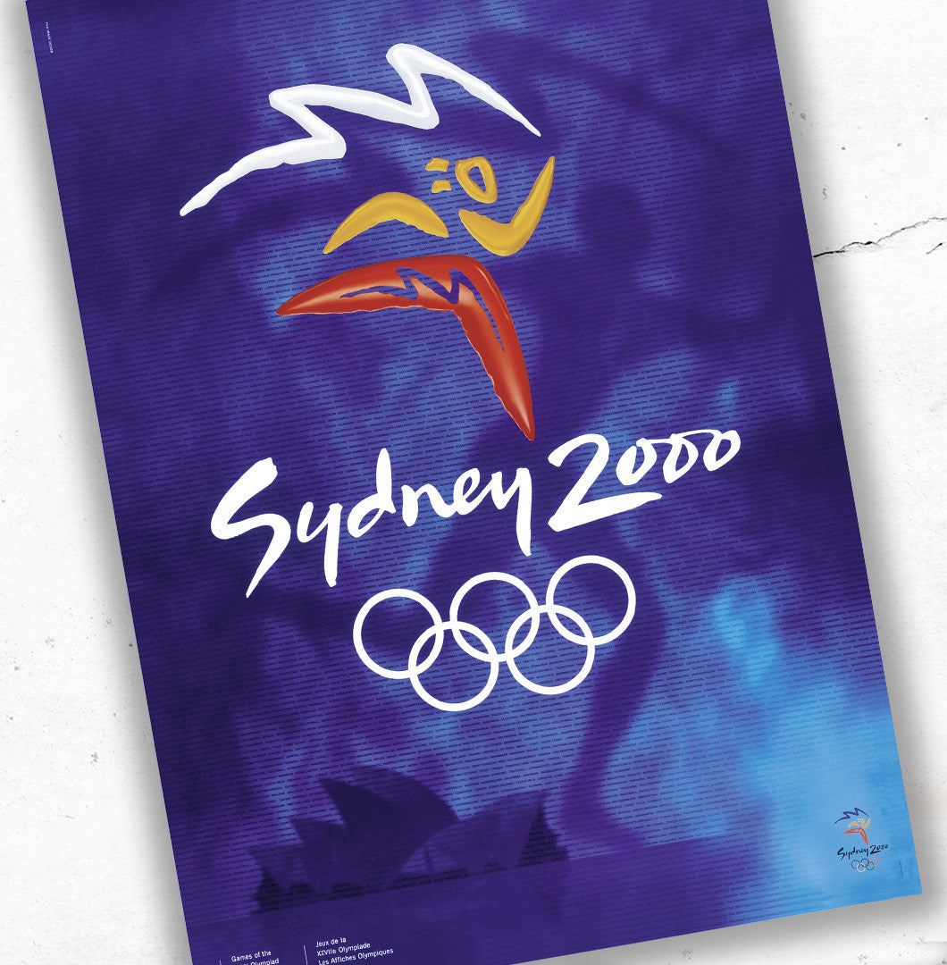 Sydney 2000 Olympic Games Official Poster