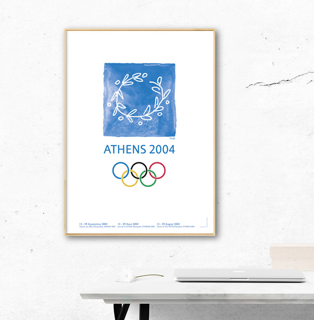Athens 2004 Olympic Games Official Poster