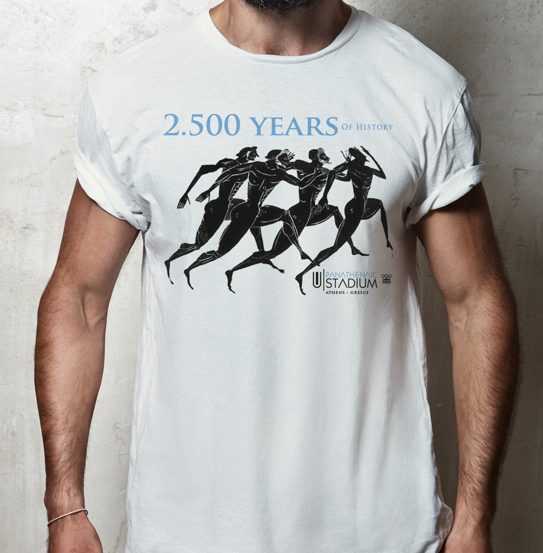 Panathenaic Stadium Official T-shirt Collection - Marathon Runners