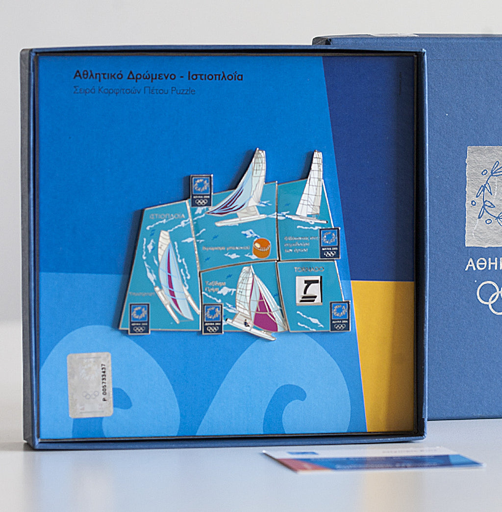 BOX0414601 - Athens 2004 Limited Edition Pins Collection: Tornado Sailing