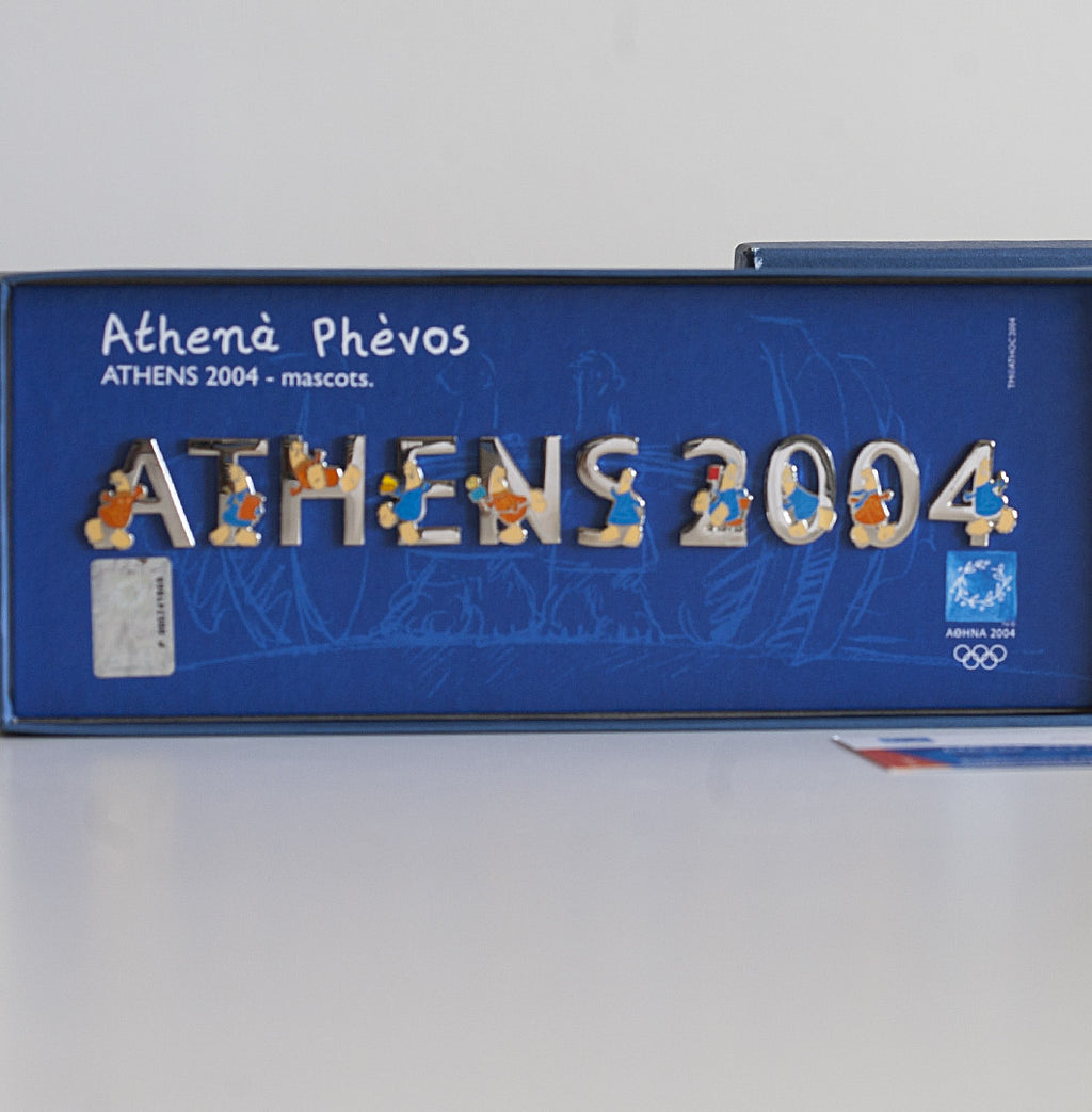 BOX0412301 - Athens 2004 Limited Edition Pins Collection: Athens 2004 Mascots