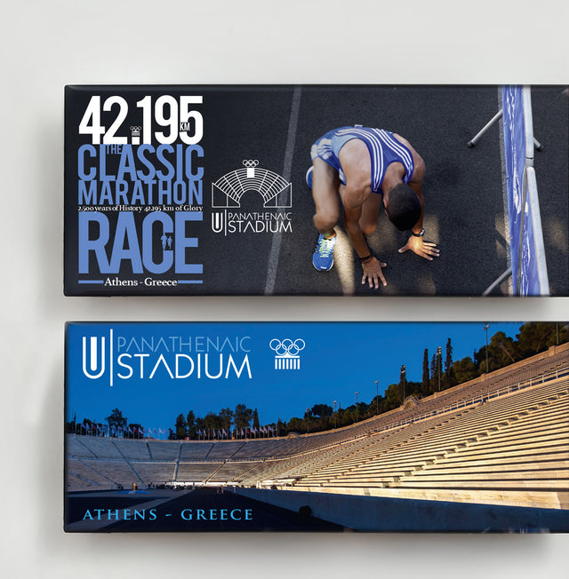 Panathenaic Stadium Magnet Collection  - Athens Marathon