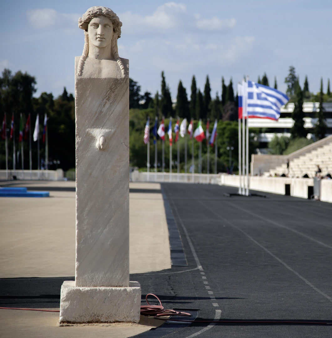 Panathenaic Stadium Official Double-faced Hermes column 1:1000