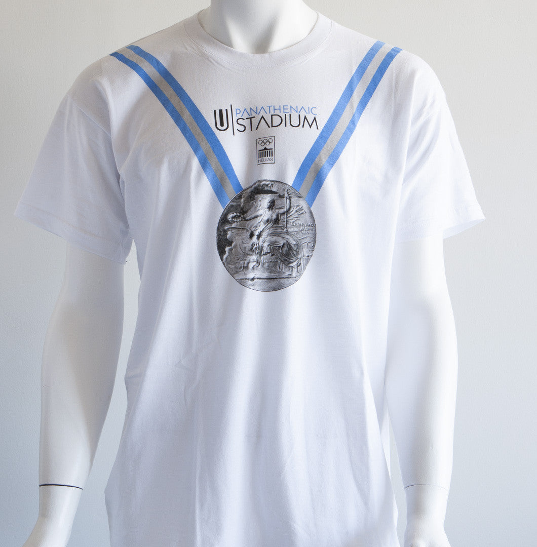 Panathenaic Stadium Official T-shirt Collection - Olympic Medal