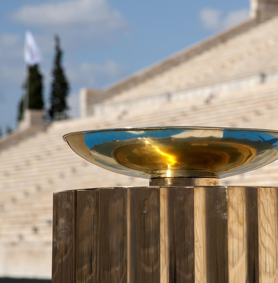Panathenaic Stadium Replica of Olympic Flame Altar 1:10000