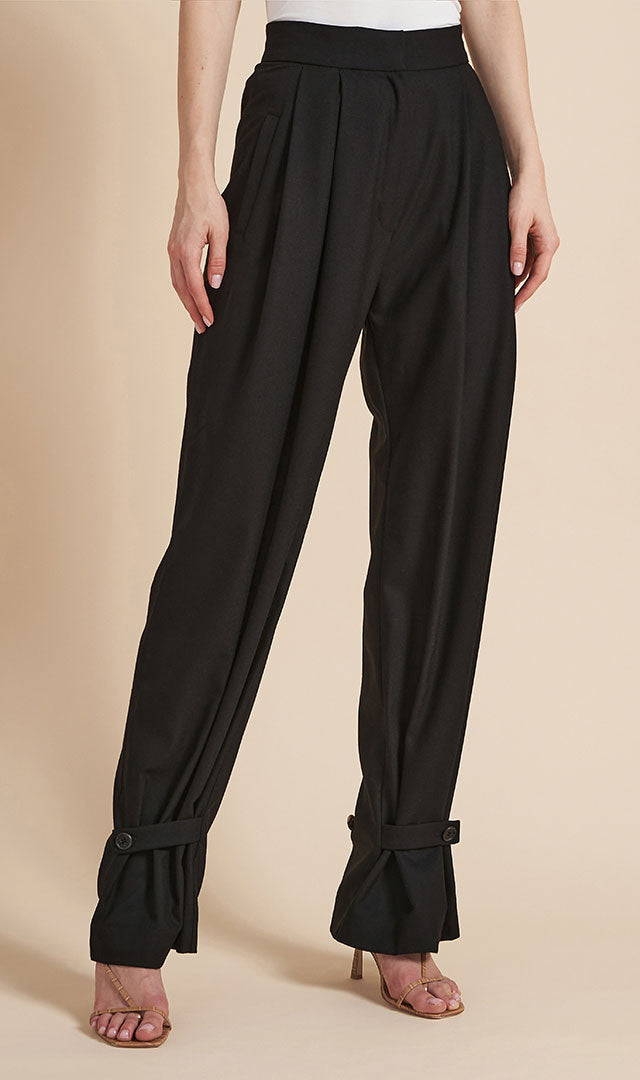 Signature Pants with Buttons
