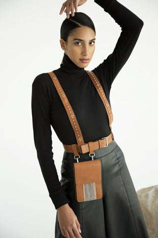 Brown Belt Bag