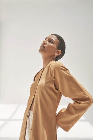 Anoud Jacket in Ochre
